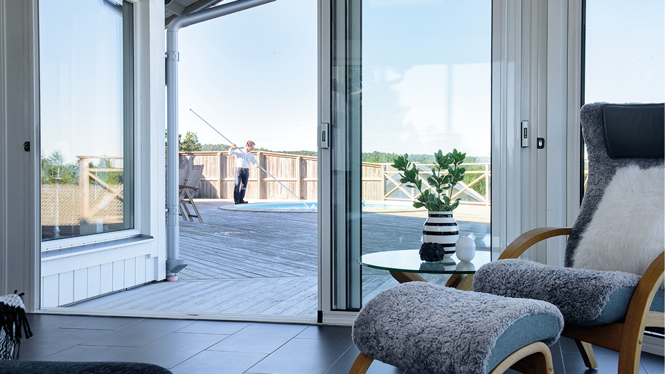 Ha kontroll på sol, varme og innsyn - Santex norska